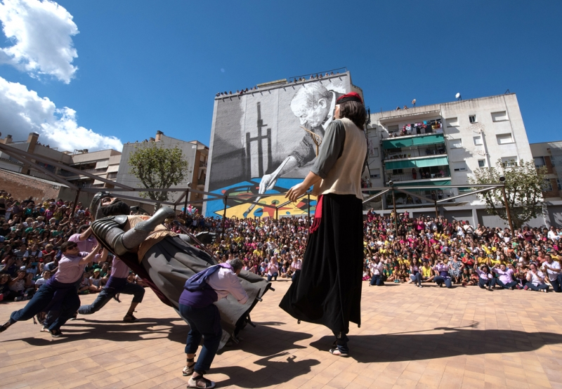 Dansa de la Batalla (Festa Major 2016)