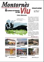 Enllaç amb el butlletí d'informació municipal Montornès Viu - Número 30 - Març 2005