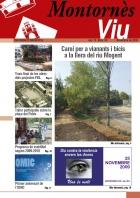 Portada Montornès Viu - Número 58 - Novembre de 2009