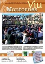 Portada Montornès Viu - Número 87 - Desembre 2013