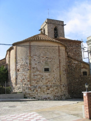 Absis de l'església de Sant Sadurní