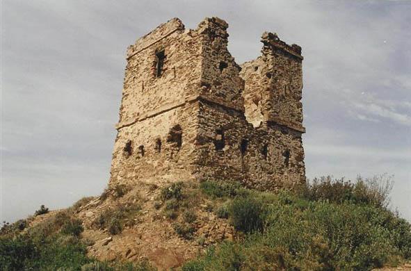 La torre del Telègraf abans de la restauració