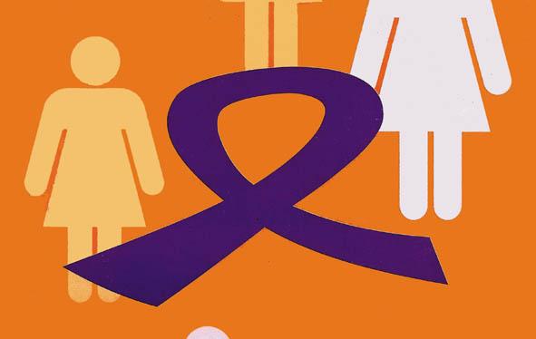 Campanya contra la violència envers les dones