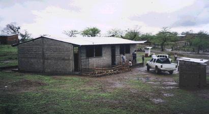 Projecte d'escola i letrines a la comunitat de Santa Anita, al municipi nicaragüenc de Villanueva