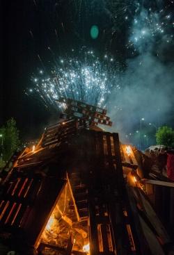 23/06 Encesa de la foguera de Sant Joan