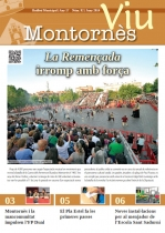 Portada Montornès Viu - Número 92 (Juny de 2014)