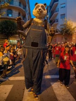 19/09/2014 - Toc d'inici i seguici popular