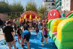 20/09/2014 - Festa infantil amb inflables
