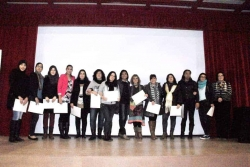18/12/2014 - Algunes de les participants en el Dispositiu d'Inserció Laboral per a dones