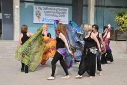 12/05/2014 - Demostració de dansa del ventre, un dels tallers que du a terme Afibromon
