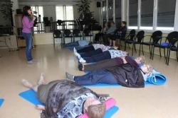 Maig de 2013 - Taller de cura personal i relaxació per a la gent gran