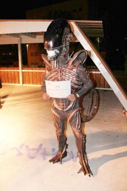 "1r Premi individual categoria adulta: ""Alien"""