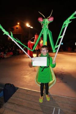 """1r Premi individual infantil: """"La Mantis Dansaire"""""""