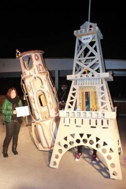 "1r Premi parella adulta: ""Torres Eiffel i Pisa"""