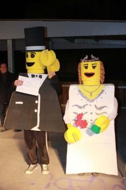 "1r Premi parella infantil: ""Lego boda"""