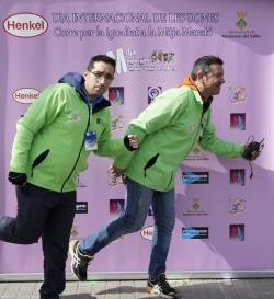 08/03/2015 - Organitzadors de la mitja marató al photocall dedicat al Dia Internacional de les Dones