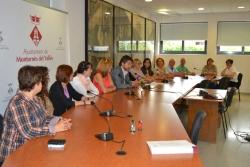 26/05/2015 - Signatura del Pacte d'Entitats de tolerància zero davant el maltractament masclista