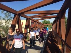 29/05/2015 - Caminada pels voltants de Montornès (Dia Internacional d'acció per la salut de les dones)