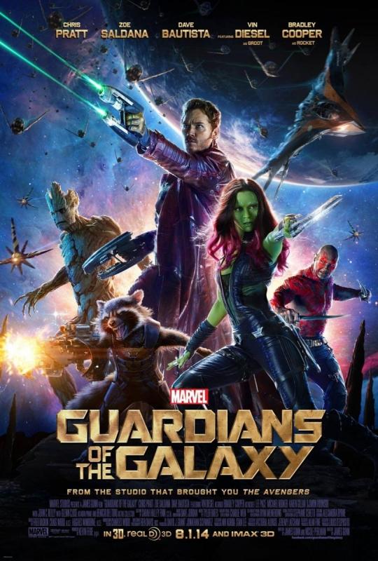 """Pòster de """"Guardianes de la Galaxia"""". (Filmaffinity)"""