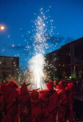 Espectacle de foc (Sant Joan 2014)