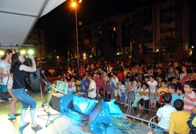 Concert a la plaça del Poble (Sant Joan 2013)