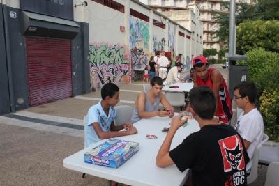 Jocs de taula al carrer (Juliol 2013)