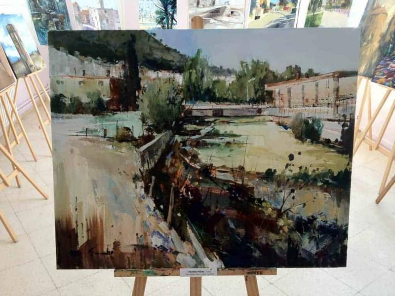 Pintura guanyadora del concurs de pintura ràpida 2012