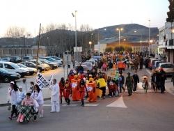 Rua de carnaval per l'avinguda de la Llibertat
