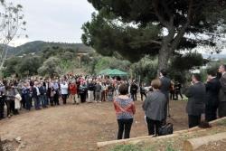 Un moment de l'acte d'inauguració celebrat el 27 d'octubre de 2012