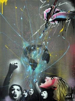 "2n Premi Pintura adults - ""Pintant drets"" Manuel Ronda"