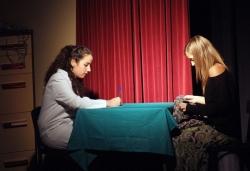 """28-11-2009 - Representació de l'obra """"Vida"""" del Grup Avançat de l'Aula de Teatre"""