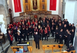 28-11-2009 - Trobada de corals a l'església de Sant Sadurní