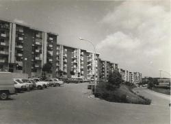 Primera fase de la urbanització de Montornès Nord. Inici de la dècada dels 80 del segle XX.