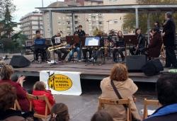 22-11-2008 - Actuació del Grup de Vent de l'Escola Municipal de Musica (Activitats de Santa Cecília)