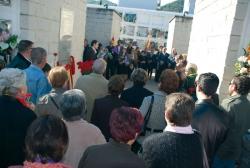 19 d'abril - Commemoració del 70è aniversari del final de la Guerra Civil - Record als montornesencs morts o desapareguts durant la Guerra Civil i la postguerra al Cementiri Municipal