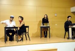 18-11-2011 - IV Premi Font de Santa Caterina de Microcontes - Representació a càrrec d'alumnes de l?Aula Municipal de Teatre