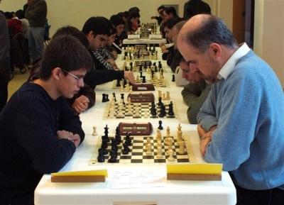Partides d'escacs (Imatge d'arxiu)