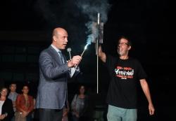 18/09/2015 - Lectura del pregó de festes a càrrec del meteoròleg Tomàs Molina