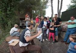 19/09/2015 - Visites guiades al refugi antiaeri de Ca l'Arnau