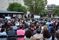 La representació es trasllada a la plaça de Pau Picasso