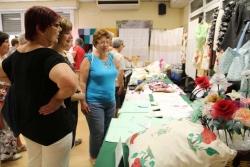 Inauguració de l'exposició de manualitats del Casal de la Gent Gran