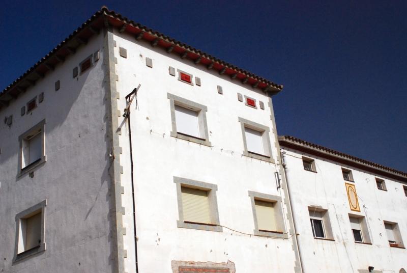 Façana de l'edifici principal de Can Xec