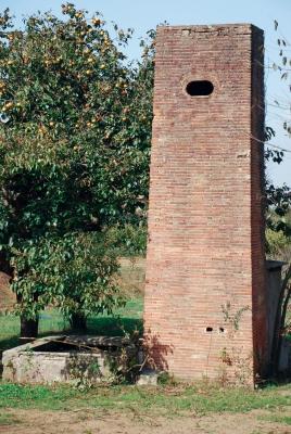 Façana de la masia de Can Galbany