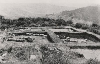 Àmfores i fragments ceràmics trobats al poblat de Sant Miquel. Col·lecció municipal d'art.