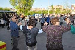 23-04-2014 - Sardanes amb la Cobla La Nova Blanes