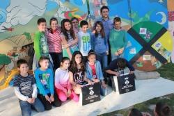 """23-04-2014 - Guanyadors i guanyadores del II Concurs """"La Màquina del Temps"""" amb les escoles"""