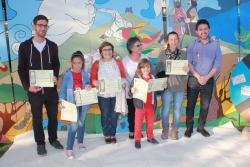 23-04-2014 - Guanyadors i guanyadores del XI Concurs de Punts de Llibre