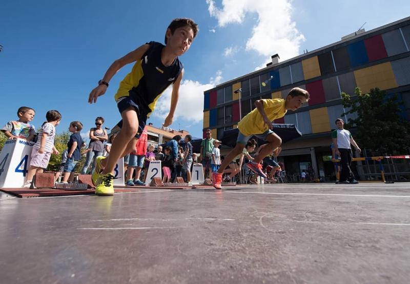 Esports al carrer a la Pau Picasso (Festa Major 2015)