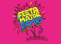 Disseny guanyador del Concurs de la Imatge de la Festa Major 2016. Autor: Iván Montllor Carrió