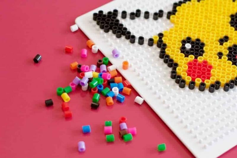 Hama Beads sobre Pokémon